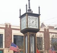 Steam Clock for Streetscape